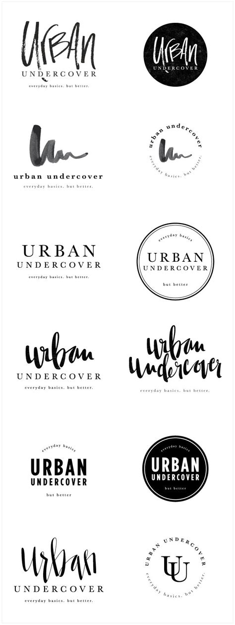 fashion design names ideas brand launch urban undercover salted ink design co