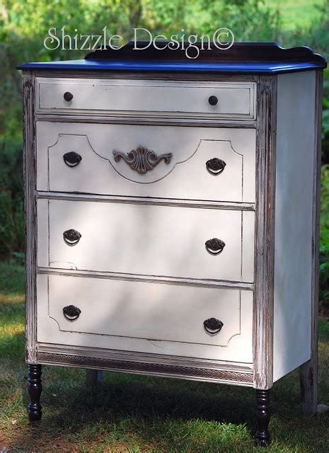 chalk paint espresso antique highboy painted in sloan s white
