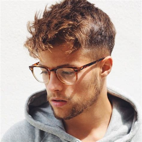Haircuts For Guys With Glasses by 108 Best Hairstyles For Guys Images On