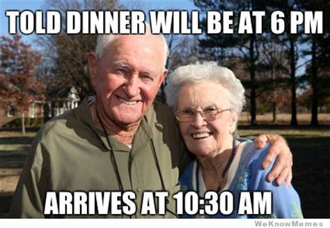 Grandparents Meme - typical grandparents on thanksgiving meme weknowmemes