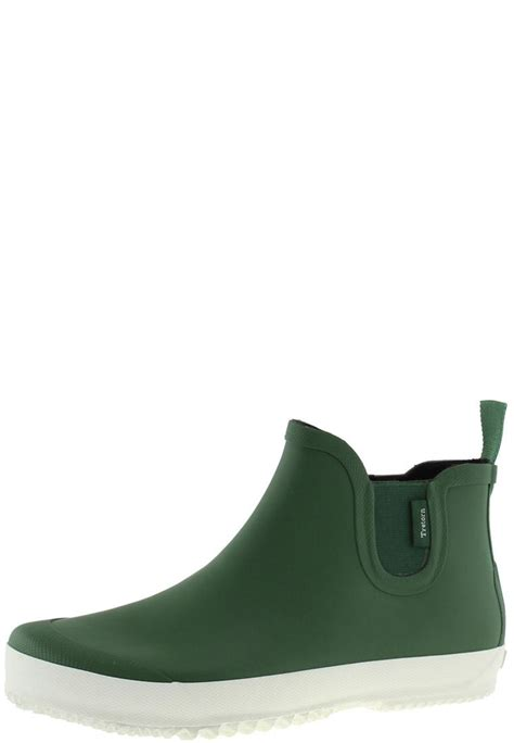 mens ankle rubber boots bo fairway green ankle rubber boots for by tretorn