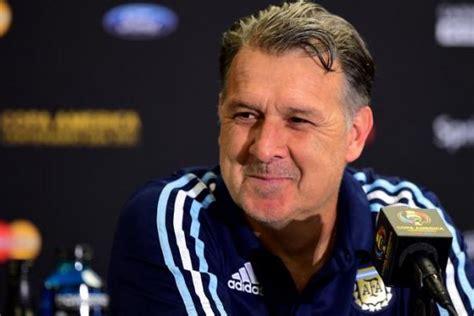 argentina coach argentina coach gerardo martino quits