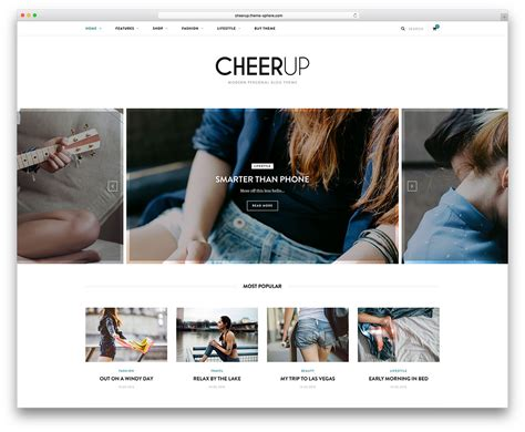 10 best fashion blog wordpress themes 2018 all template