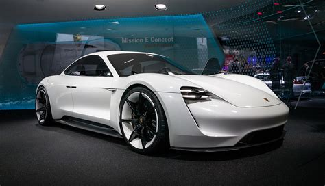 porsche mission e doors will porsche build a 2 door electric sports car