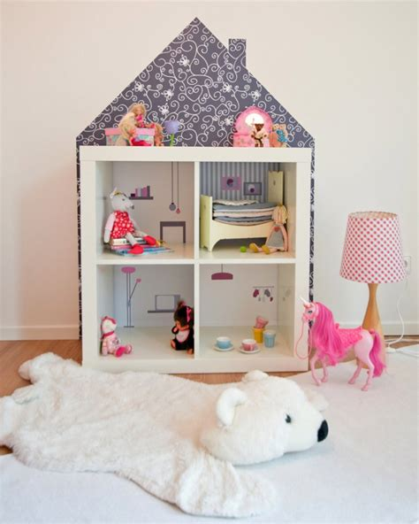 ikea doll house ikea hack kallax dollhouse using stickers gyerekeknek 246 tletes dolgok j 225 t 233 kok