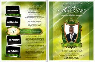 free pastor anniversary program templates abundant pastor anniversary program pastor anniversary