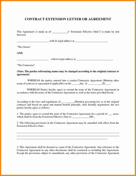 Contract Amendment Letter Template Sles Letter Cover Templates Parent Child Contract Templates Free