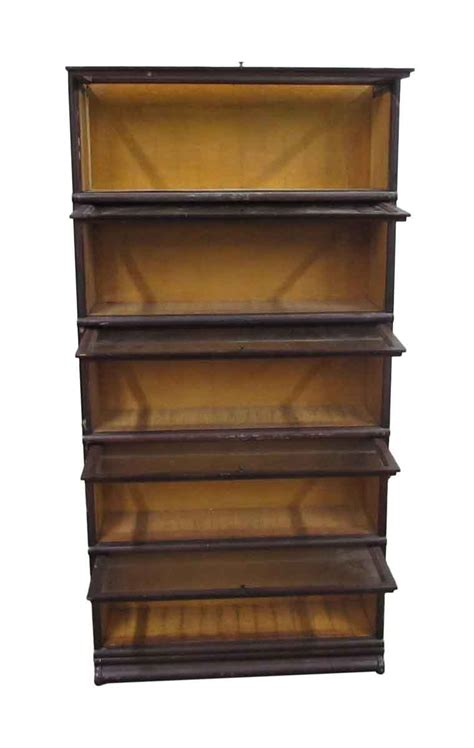 five shelf barrister bookcase olde things