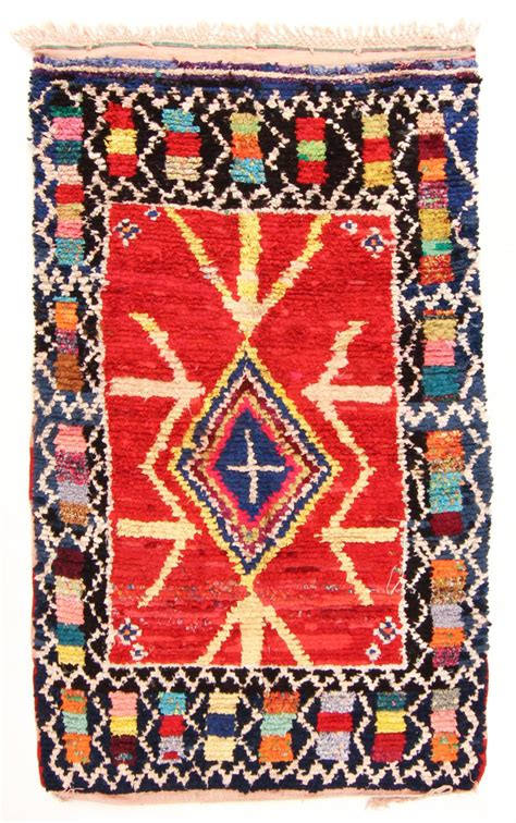 Tapis Marocain by Tapis Marocain Berb 232 Re Boucherouite 240 X 135 Cm
