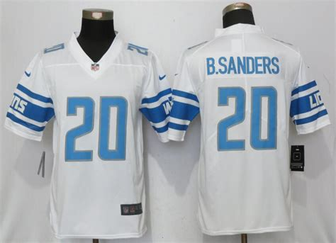 youth white barry sanders 20 jersey reassured p 1199 new nike lions 20 barry sanders blue 2017 vapor