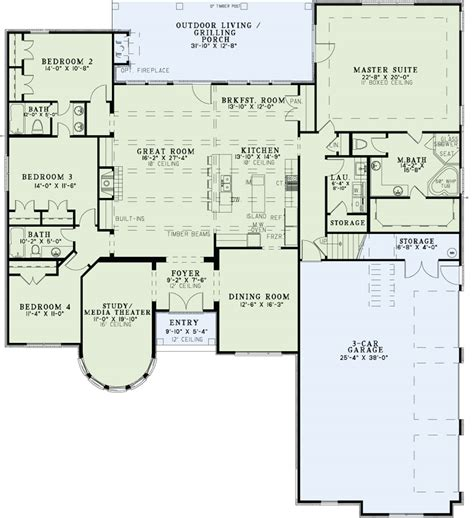 home layout service european house plan 153 2049 4 bedrm 3090 sq ft home