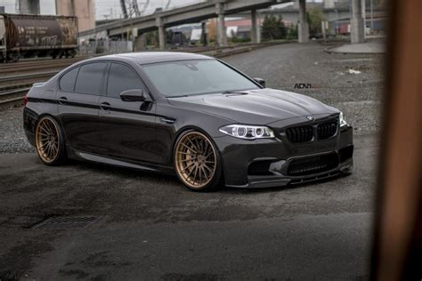 Bmw M5 Slammed With 21 Inch Adv 1 Wheels Carsifu