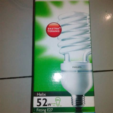 Lu Philips Tornado 52 Watt lu philips tornado 52 watt e27 putih shopee indonesia