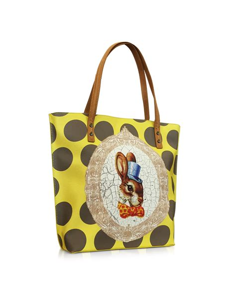 Vivienne Westwood For Louis Vuitton Pack Bum Bag by Lyst Vivienne Westwood Bunny Print Tote Bag In Yellow