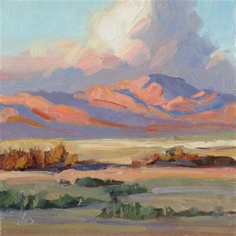Southwest Giveaway - southwest desert landscape free painting giveaway info original painting by artist