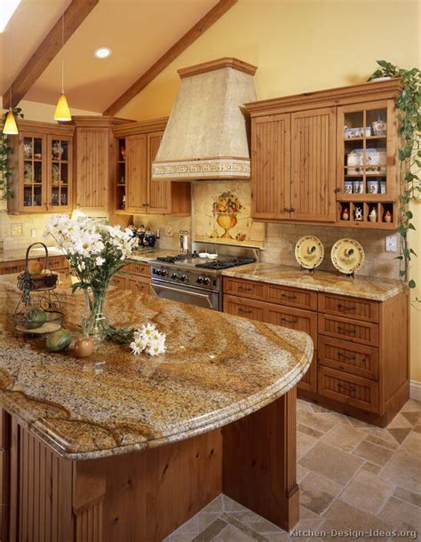 kitchen granite countertop ideas pictures of kitchens traditional medium wood cabinets