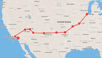 Route 66 Map Usa by Self Drive Road Trips Auto Tours Usa