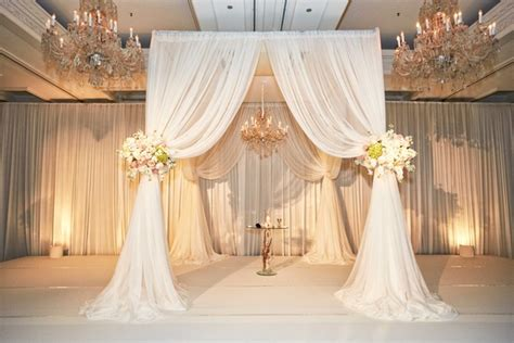 table drapes for weddings wedding with blush ivory and gold palette in