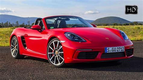 red porsche boxster 2017 2017 porsche 718 boxster s red yellow exterior