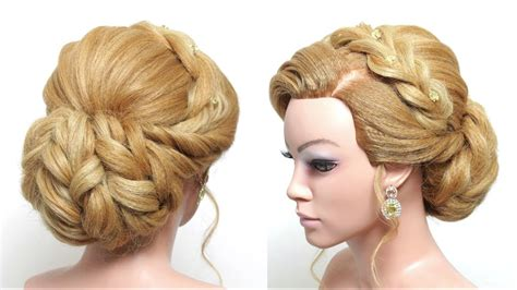 Wedding Hair Updo Step By Step by Wedding Updo Bridal Hairstyle For Hair Tutorial Step