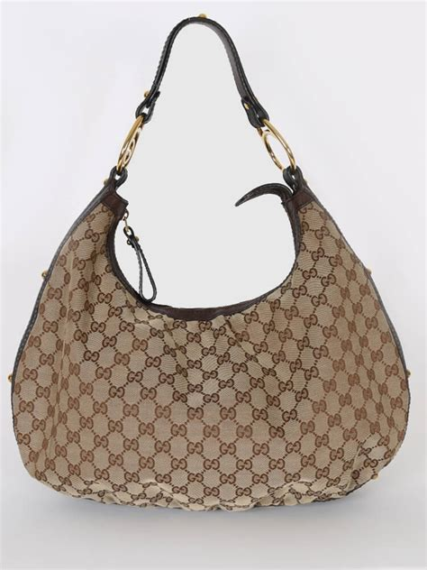 Bag Gucci Hobo Canvas 9102 Semprem gucci gg canvas interlocking details hobo bag luxury bags