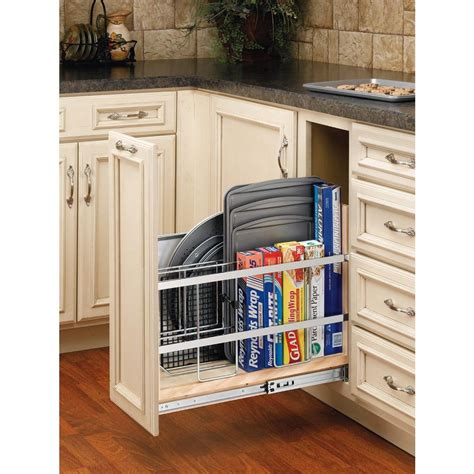 Rev S Shelf by Rev A Shelf 20 In H X 8 In W X 22 In D Pull Out Wood