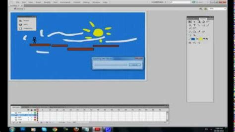 tutorial for flash cs5 beginners how to make a flash game in adobe flash cs5 tutorial youtube
