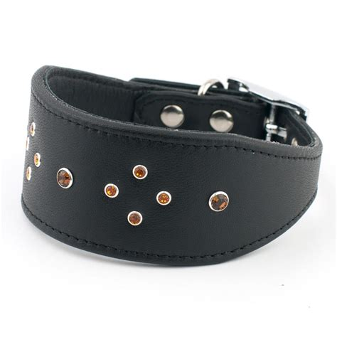 Handmade Whippet Collars - sky handmade leather whippet collar petiquette