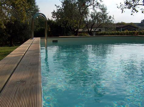rivestimento in legno per piscine fuori terra piscine fuori terra global piscine
