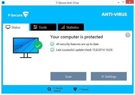 Ac Panasonic Anti Virus f secure anti virus