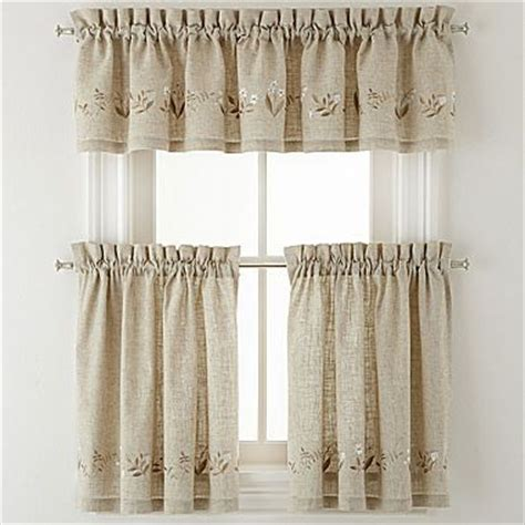 kitchen curtains at jcpenney 1000 images about baths and kitchen on