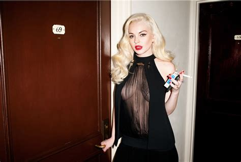 Loving Lindsays Look by Lindsay Lohan S Racy Photoshoot For Magazine