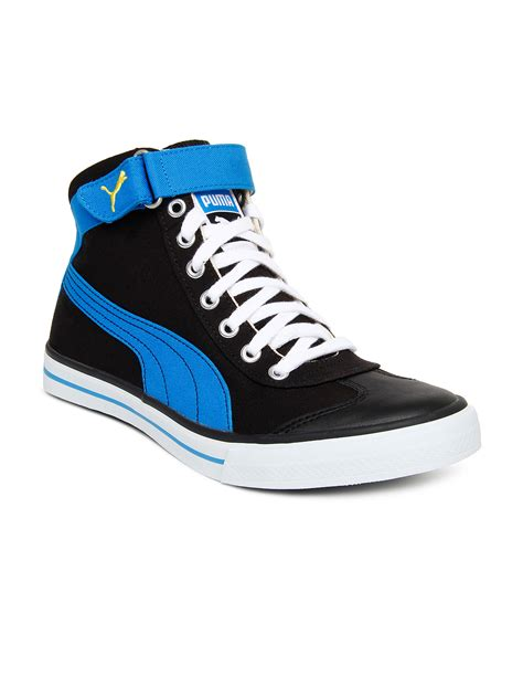 pumas shoes for buy unisex black casual shoes 632 footwear for