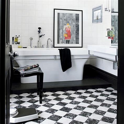 monochrome bathroom ideas ba 241 os en color blanco y negro