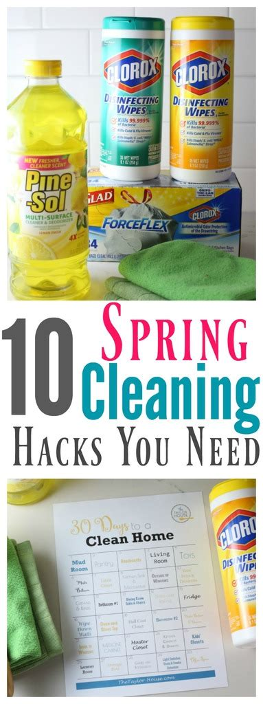 spring cleaning hacks 10 spring cleaning hacks you need to know the taylor house
