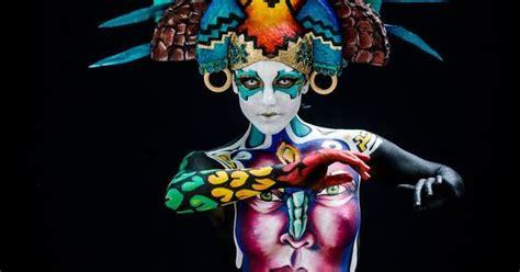 world bodypainting festival festival melukis tubuh di austria lintas nesia indah dan serunya festival lukis tubuh