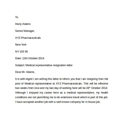 Sle Formal Letter Of Resignation by Exle For Resign Letter 28 Images Resignation Sle Letter How To Write A Resignation Letter