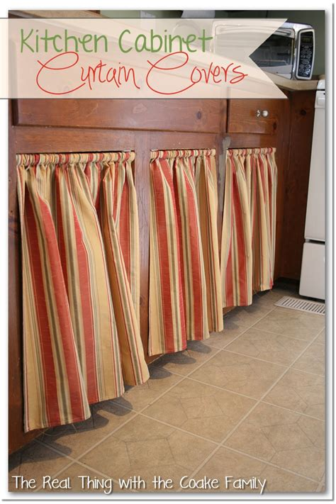 Kitchen Cabinet Curtains Kitchen Cabinet Ideas Curtains For Cabinet Doors The Real Thing With The Coake Family