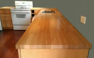 Home Depot Countertops Laminate - hard maple butcher block countertop capitol granite