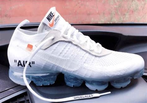 Offwhite 100 Original white x nike vapormax white aa3831 100 release