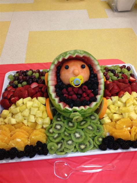 Baby Shower Fruit Tray by The Best Baby Shower Fruit Tray Food