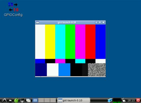 Test Pattern Bash | using cameras in embedded linux systems colibri vf61 module