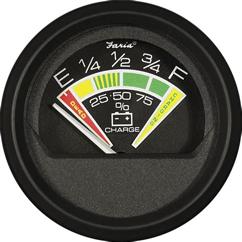 marine battery charge gauge battery condition indicator blue sea systems