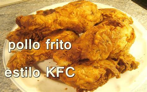 recetas faciles de cocina y economicas pollo frito estilo kentucky fried chicken kfc recetas