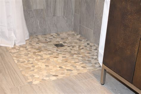 Replace Bath With Walk In Shower installing curbless barrier free showers