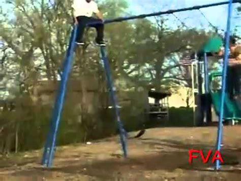 fat girl falls off swing fat girl falls off swing youtube