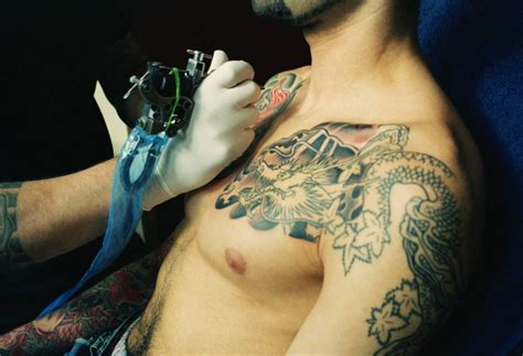 chest tattoo risks new research suggests tattoo complications lead to