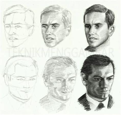 tutorial menggambar wajah teknik menggambar wajah manusia teknik menggambar