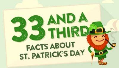 33 and a third facts about st s day