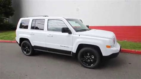 white jeep patriot with white rims 2014 jeep patriot sport altitude edition white
